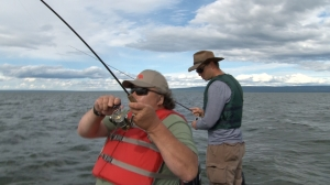 Fishing on Lesser Slave Lake